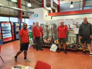 The Posties Foodbank Update