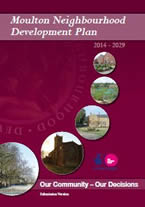 Picture show the cover of the Neighbourhood Development Plan publication