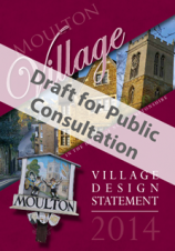 Picture shows the cover of the Village Design Statement draft publication